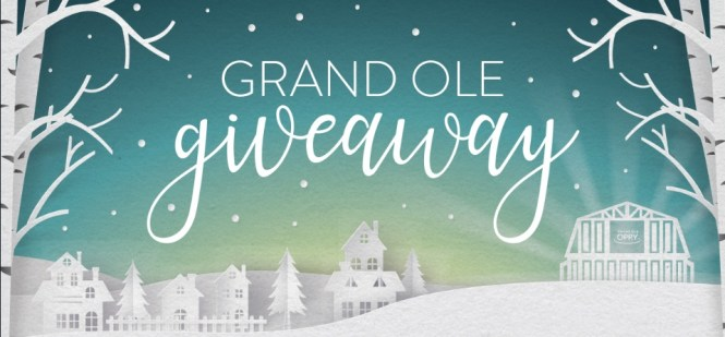 Grand Ole Opry Grand Ole Giveaway