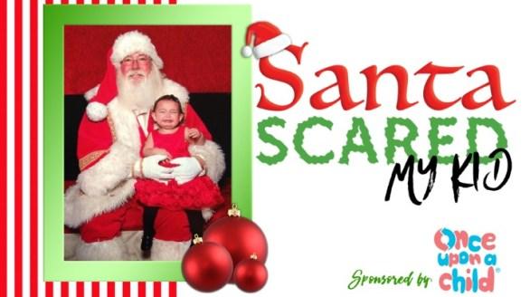 Local News 8 Santa Scared My Kid Giveaway