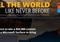 NBC Sports Microsoft Surface Your Passions Sweepstakes