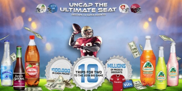 Novamex Uncap The Ultimate Seat Sweepstakes