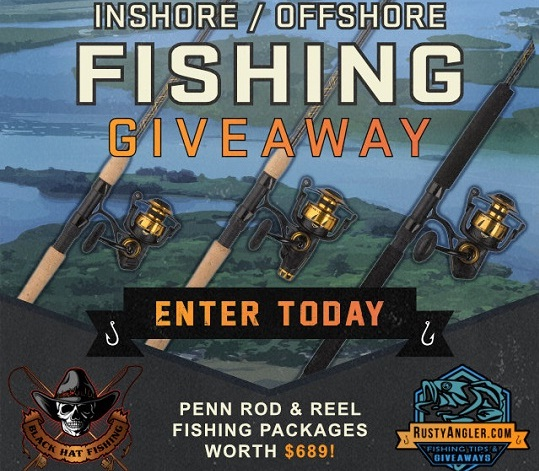 Rusty Angler Inshore Offshore Fishing Giveaway