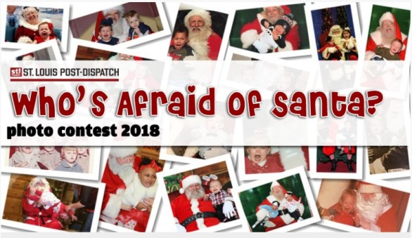 STLtoday Who's Afraid Of Santa Photo Contest