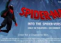 Spider Man Into The Spider Verse Giveaway