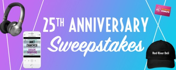 Stephanie Plum 25th Anniversary Sweepstakes