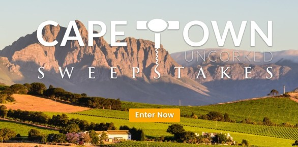 The Africa Channel Cape Town Uncorked Sweepstakes
