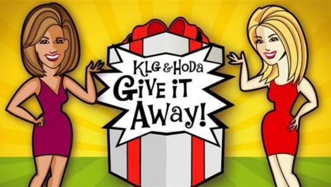 Today KLG And Hoda Give It Away Sweepstakes