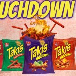 Touchdown To Takis Sweepstakes