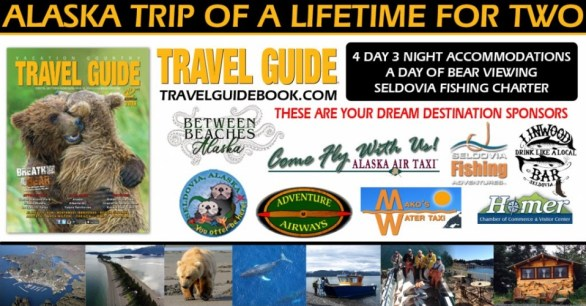 Travel Guide Alaska Trip Of A Lifetime For Two Sweepstakes