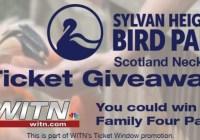 WITN Sylvan Heights Bird Park Ticket Giveaway