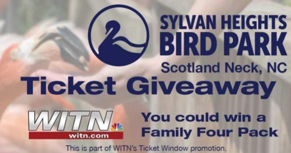 WITN Sylvan Heights Bird Park Ticket Giveaway