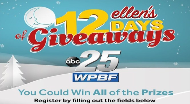 WPBF Ellen 12 Days Sweepstakes