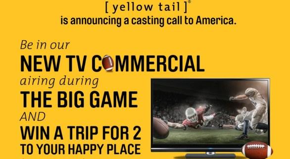 Yellow Tail Tastes Like Happy Contest