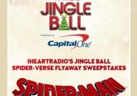 iHeartRadio/97.9 KISS FM Jingle Ball Spider Verse Flyaway Sweepstakes
