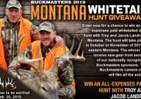 Buckmasters Montana Whitetail Hunt Giveaway
