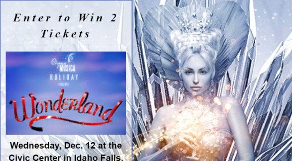 Cirque Musica Wonderland Ticket Giveaway