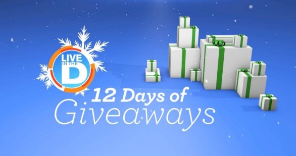 Click On Detroit Live In The D 12 Days of Christmas Giveaway