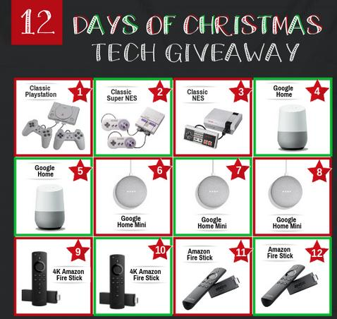 Dollar Dig 12 Days of Christmas Tech Giveaway