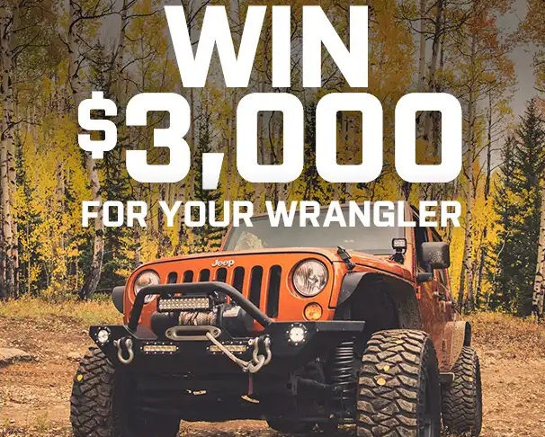 Extrem Eterrain Win $3000 For Your Wrangler Giveaway