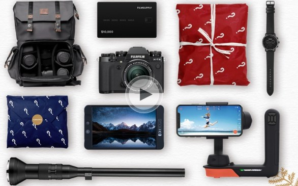 Filmsupply Not So Secret Santa $50k Giveaway