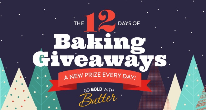 Go Bold With Butter 12 Days Of Baking Giveaways