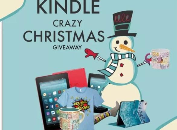Kindle Crazy Christmas Giveaway