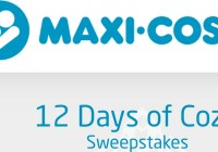 Maxi Cosi 12 Days Of Cozy Sweepstakes