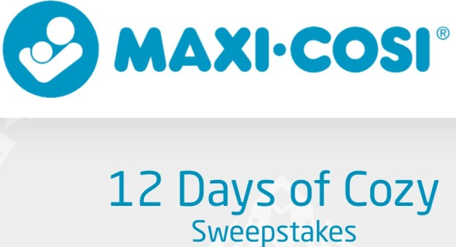 Maxi Cosi 12 Days Of Cozy Sweepstakes