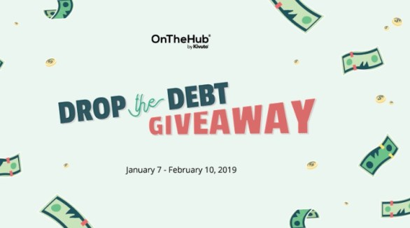 On The Hub Drop The Debt Giveaway