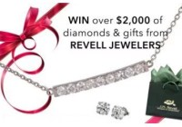 Revell Jewelers Holiday Sweepstakes