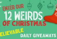 Ripley 12 Weirds Of Christmas Sweepstakes