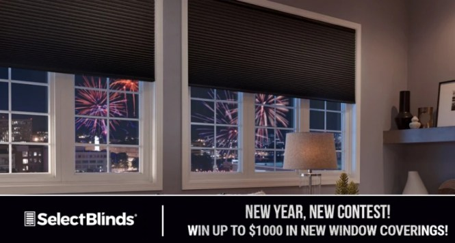 Select Blinds 2019 New Year's Giveaway