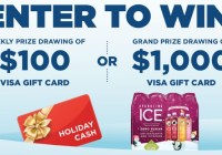 Sparkling Ice Holiday Cash Regional Sweepstakes