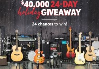 Sweetwater 24 Day Holiday Giveaway