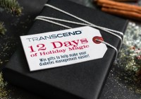 Transcend 12 Days Of Holiday Magic Sweepstakes