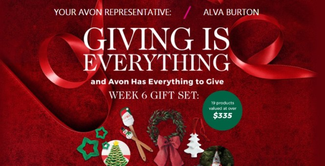 Your Avon Giving Is Everything Sweepstakes
