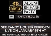 iHeartRadio See Randy Houser Perform LIVE Contest