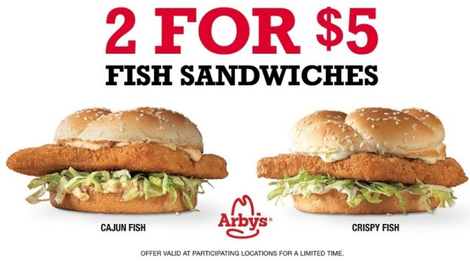 106.5 The Lake Lunch For 4 At Arbys Contest