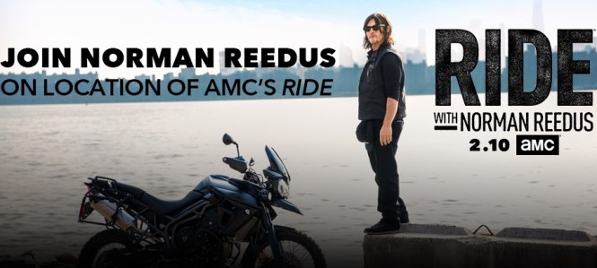 AMC On Location With Norman Reedus Sweepstakes