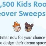 Ashley Home Store $2500 Kids Room Makeover Sweepstakes