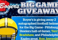 Boyers Food Big Game 2019 Giveaway