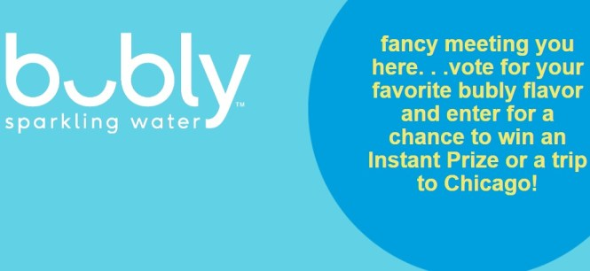 Bubly Flavor Voting Instant Win Game And Sweepstakes
