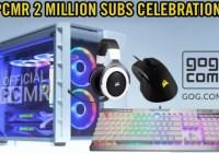 Corsair PCMR 2 Million Subs Giveaway