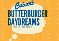 Culvers ButterBurger Daydreams Sweepstakes