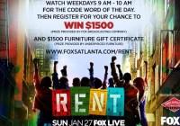 FOX 5 Atlanta Watch And Win Contest