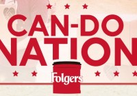 Folgers Can Do Promotion