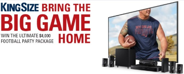 Full Beauty Big Game Party Package Sweepstakes