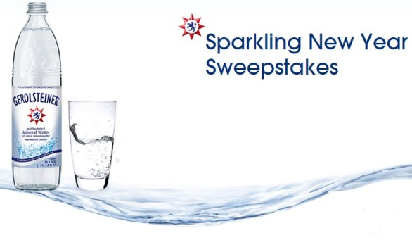 Gerolsteiner Sparkling New Year Sweepstakes