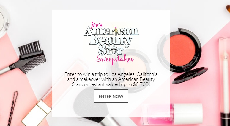 JTV American Beauty Star Sweepstakes - Enter To Win Trip