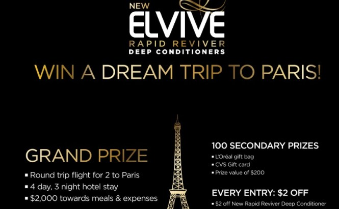 LOreal Paris Elvive Stop Waiting Sweepstakes