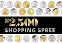 Littleton Coin Company Shopping Spree Sweepstakes